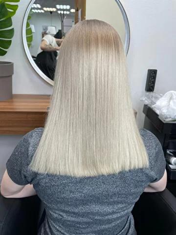 Как проходит процедура холодный ботокс для волос?