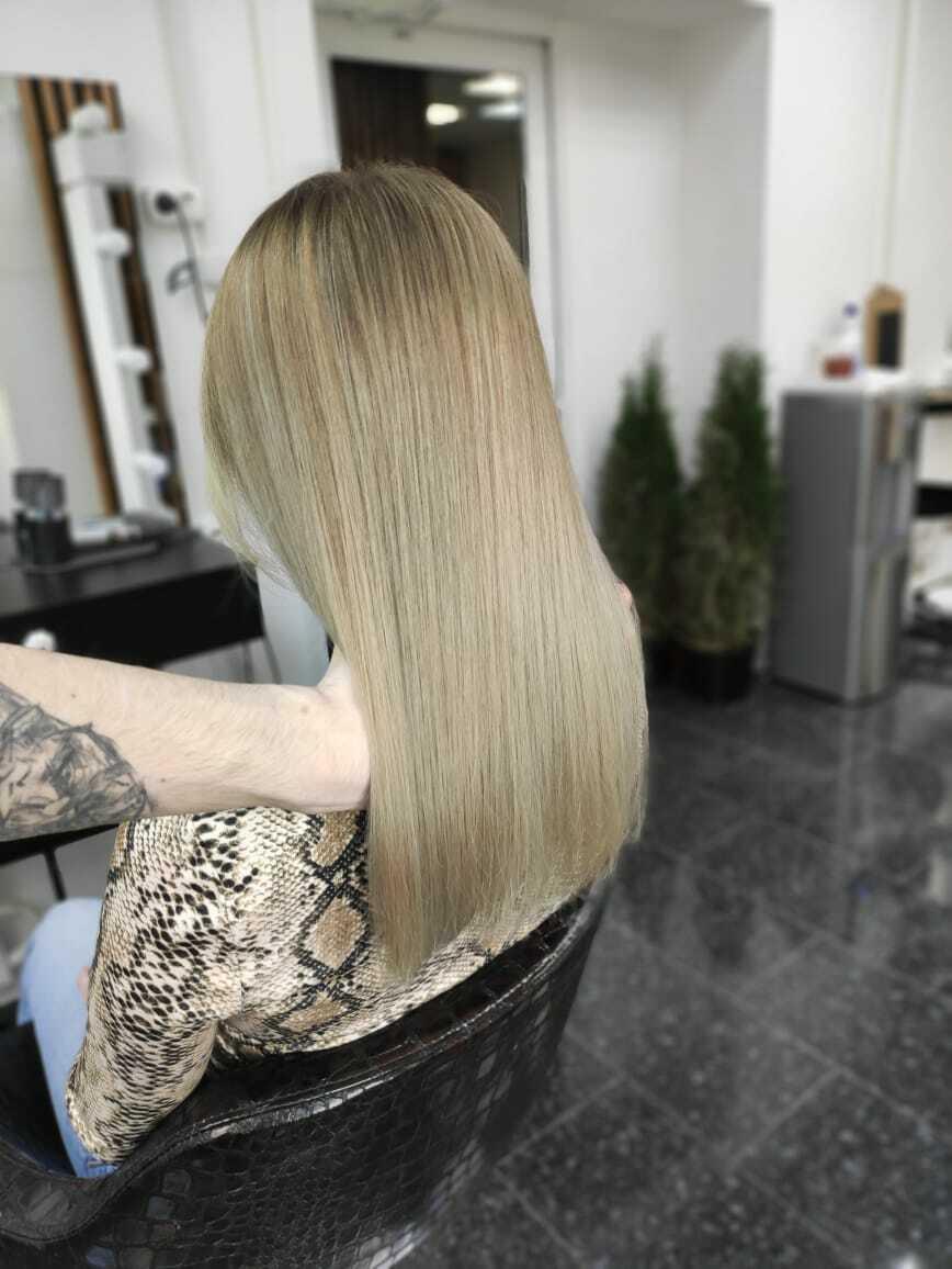 Профессиональное восстановление волос светлых оттенков