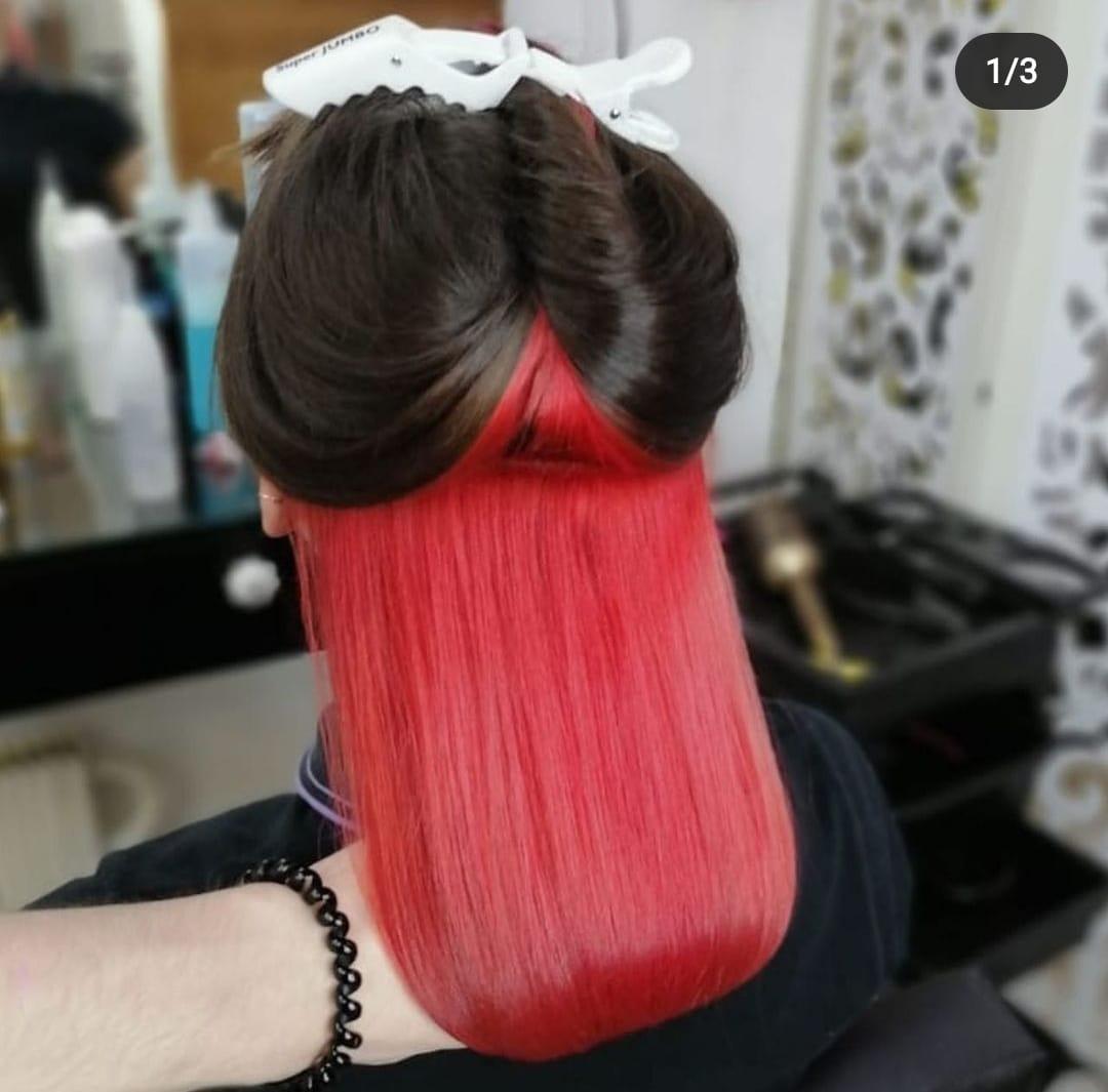 Что такое скрытое окрашивание волос?